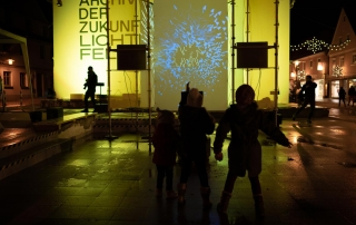 Videoinstallation Second Nature
